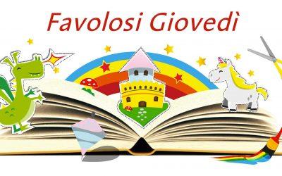 Questa immagine raffigura un libro aperto da cui spuntano un castello e degli animali del momdo delle fiabe